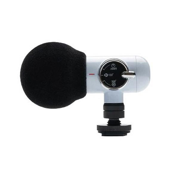 올포토 Q-Mic 마이크 장비 ASMR 지향성 360 전방향 모드 블루, 단일상품