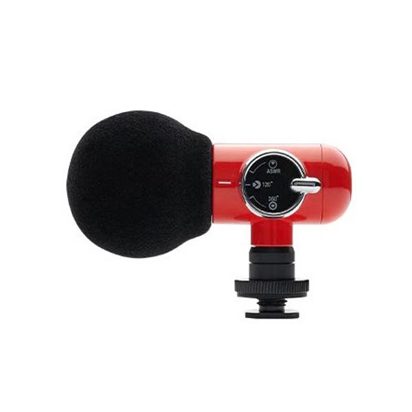 올포토 Q-Mic 마이크 장비 ASMR 지향성 360 전방향 모드 레드, 단일상품