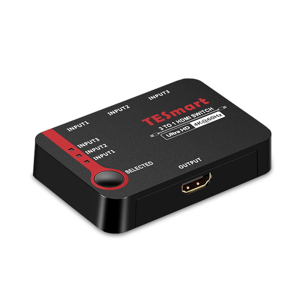 티이스마트 HDMI 2.0 3포트 스위치, HSW0301A1U