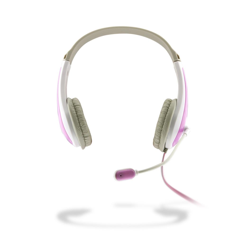 애니젠 스테레오 어학용 헤드셋, AZ-380, 핑크