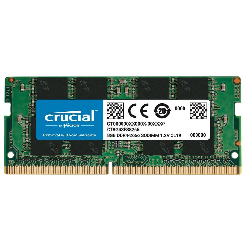 크루셜 Micron Crucial DDR4 8GB PC4-21300 메모리 노트북용 CT8G4SFS8266