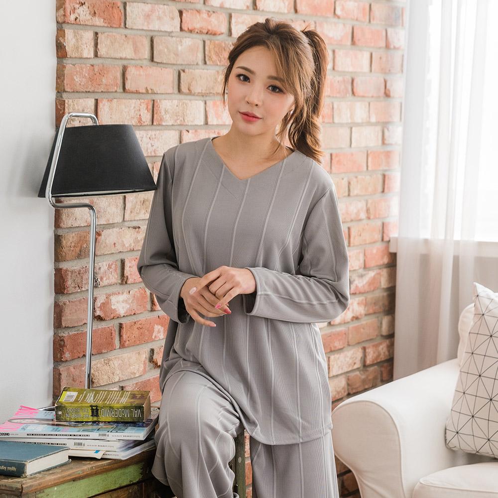 도씨 여성용 심플 투피스 잠옷세트