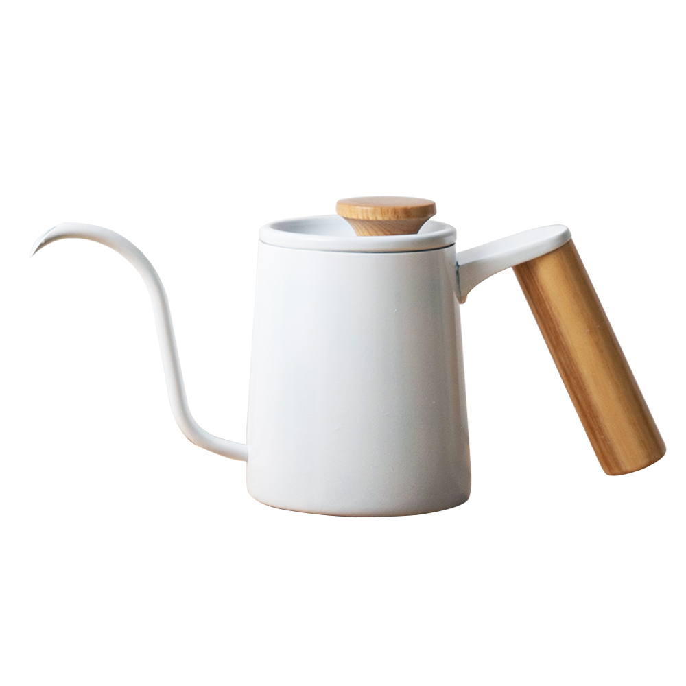 칼딘 브루오 커피 핸드 드립 포트 350ml, 화이트, 1개