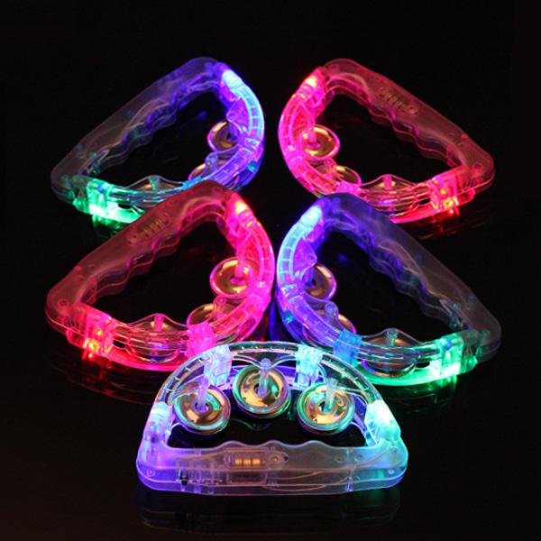 LED 탬버린 15cm, 랜덤 발송, 5개