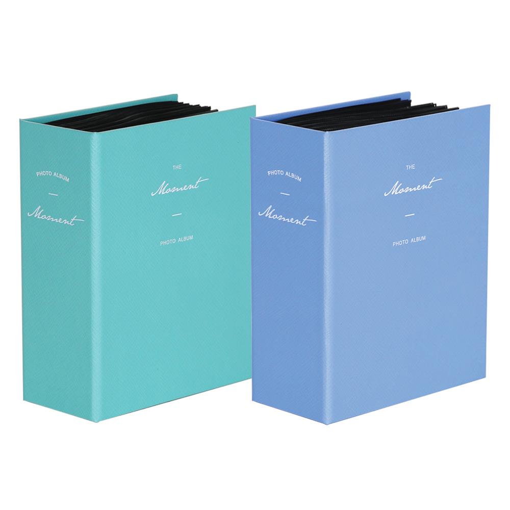 모멘트 포토앨범 V2 2종 세트, 블루, 민트, 100매