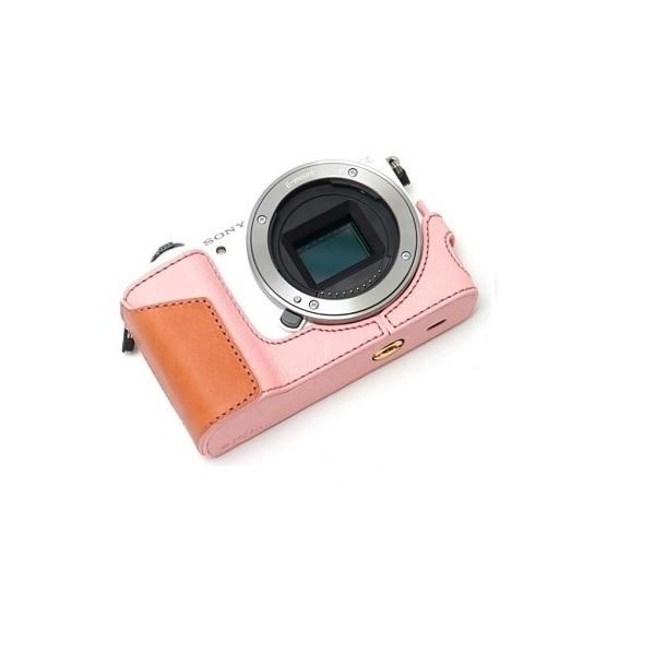 디그니스 소니 A5100/A5000용 카메라 속사케이스, ALI-RP(핑크), 1개