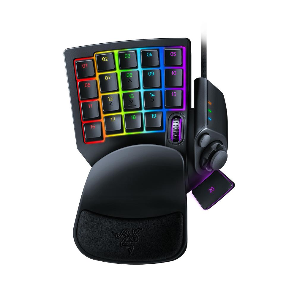 레이저 Tartarus Pro 유선키보드, RZ07-0311, Classic Black