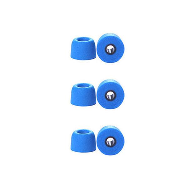 로랜텍 유선 무선 공용 메모리폼 이어팁 T 4.9mm S + M + L 세트, 블루