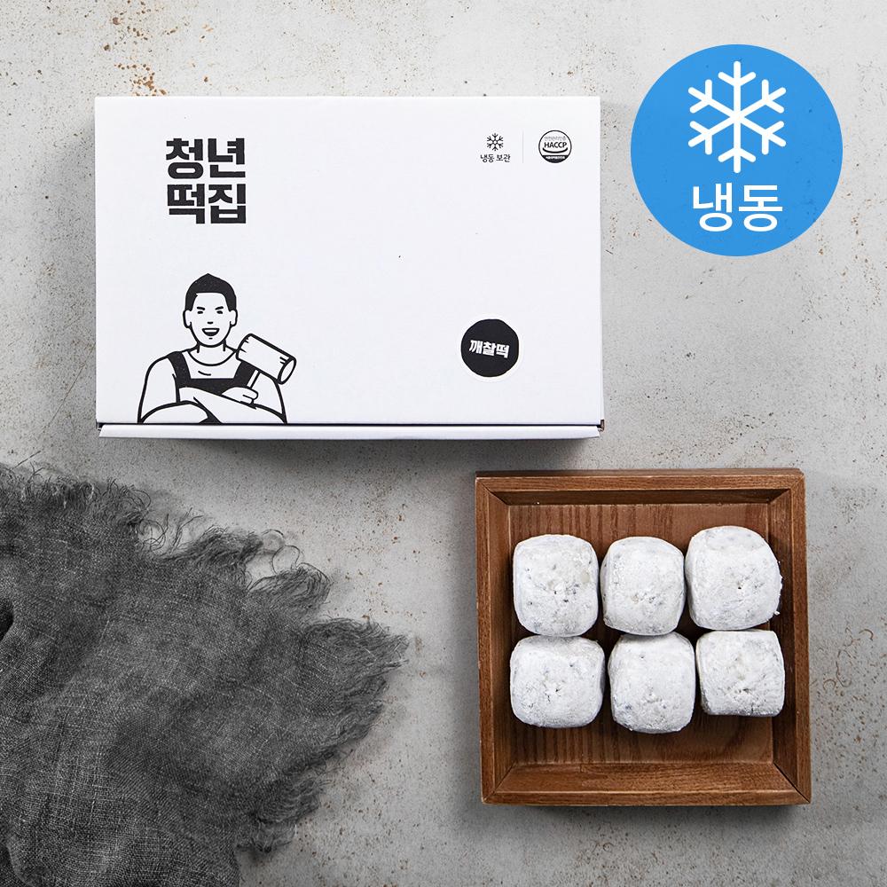 청년떡집 깨찰떡 24개입 (냉동), 960g, 1개