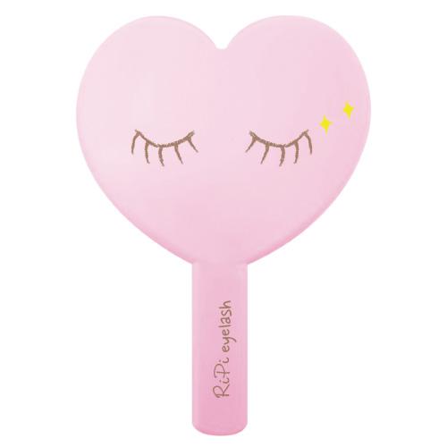 리피 하트 손거울, LOVELY PINK, 1개