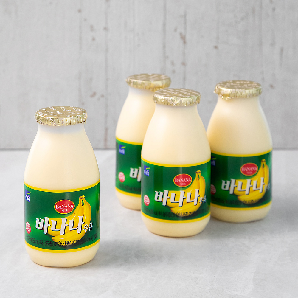 푸르밀 바나나우유, 225ml, 4개