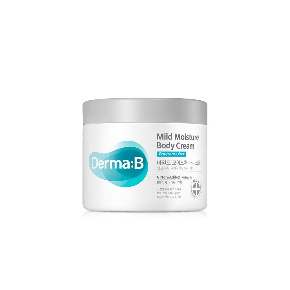 더마비 마일드 모이스처 바디크림, 430ml, 1개