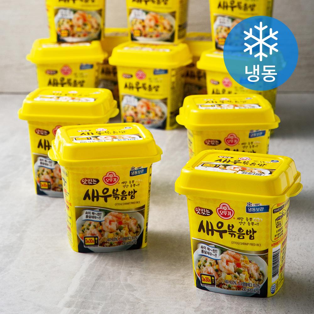 오뚜기 맛있는 새우 볶음밥 용기형 (냉동), 230g, 16개