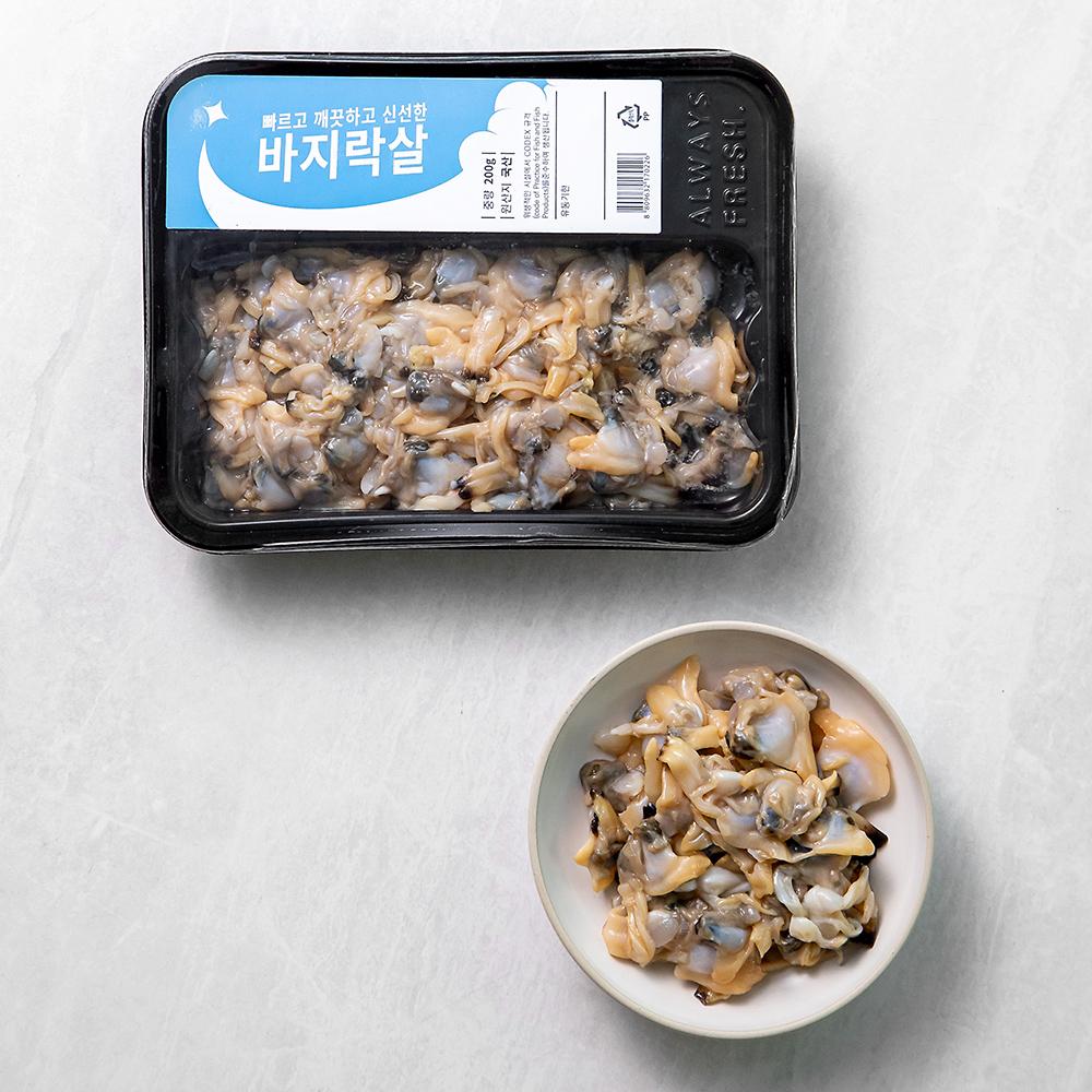 바지락살 (냉장), 200g, 1팩