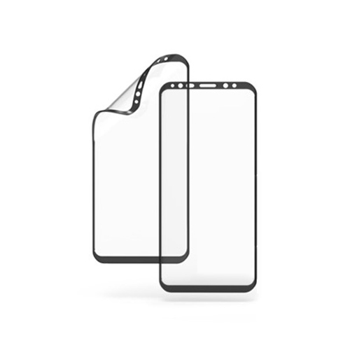 주파집 3D 엣지 풀커버 우레탄 휴대폰 액정보호필름 2p 세트, 1세트