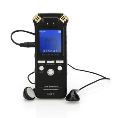 사파 디지털 보이스레코더 16GB, SA900, 블랙