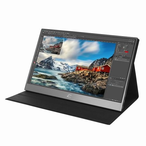 크로스오버 39.6cm FHD 멀티 터치 포터블 모니터, 16TF5 DEX(무결점)