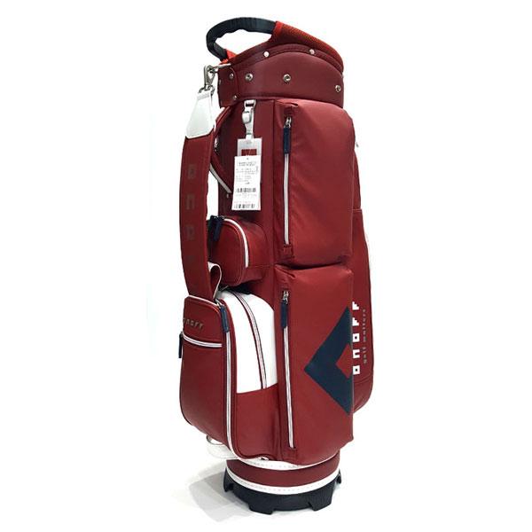 온오프 여성 골프 캐디백 OB-6219, 레드