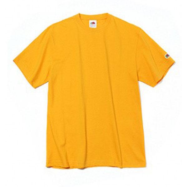 프룻오브더룸 남녀공용 레귤러핏 반소매 와펜티셔츠