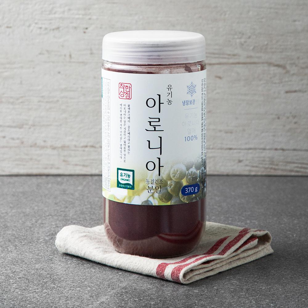 매홍 유기농 인증 착한상점 아로니아 분말, 370g, 1통