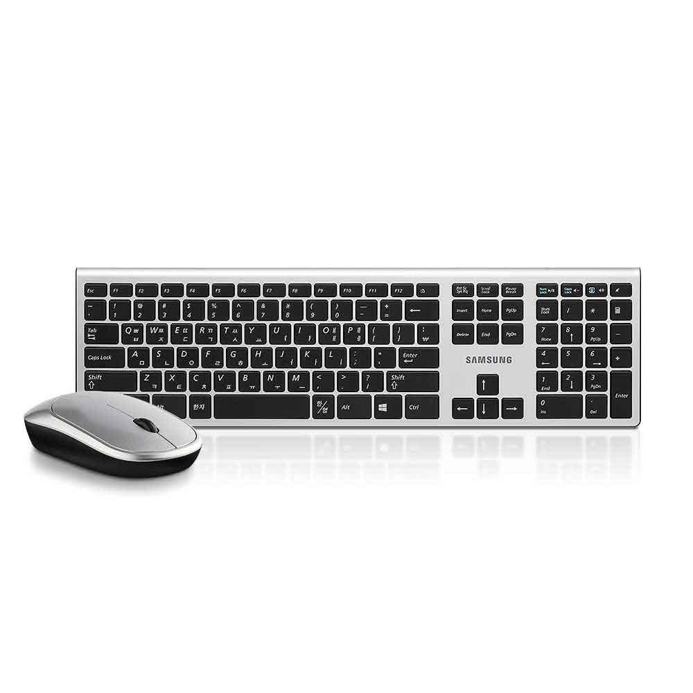 삼성전자 무선 키보드 마우스 세트, SRP-9500B, 블랙