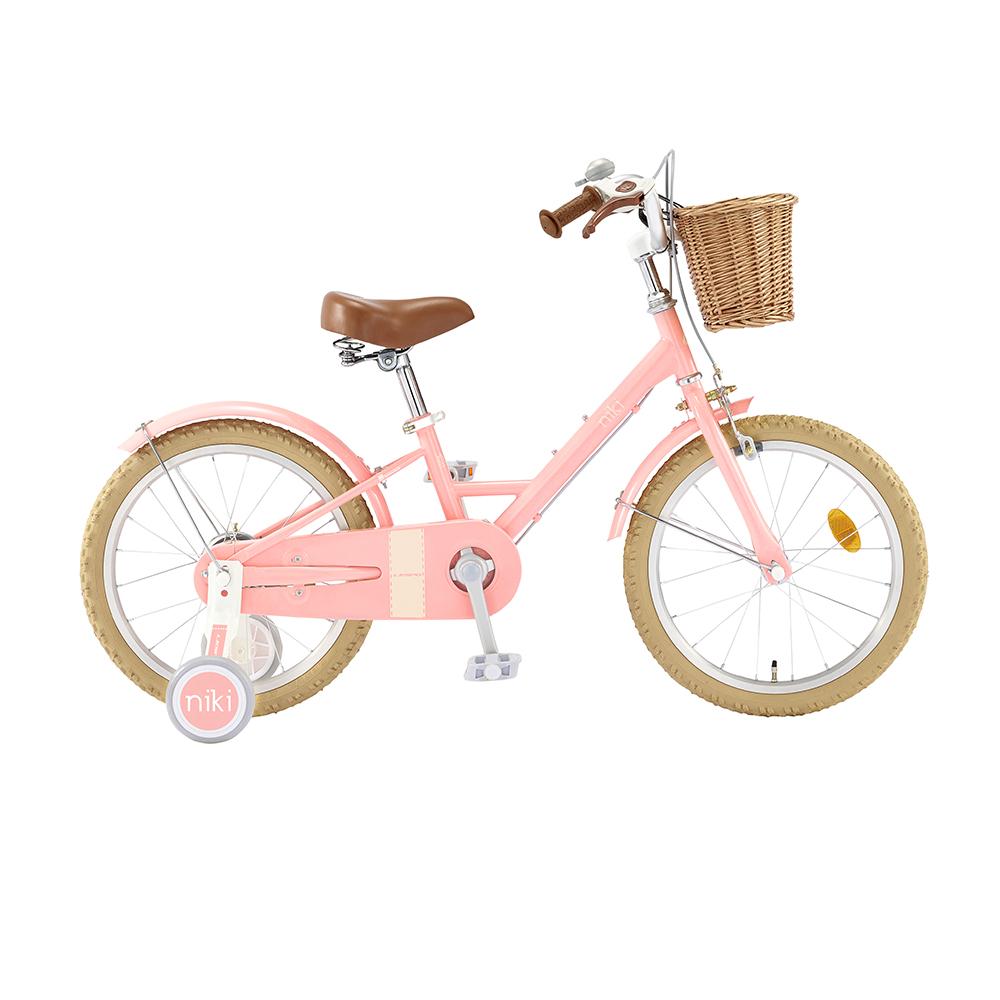 삼천리자전거 2020년형 니키 어린이자전거 50.8cm, 라이트핑크, 1360mm
