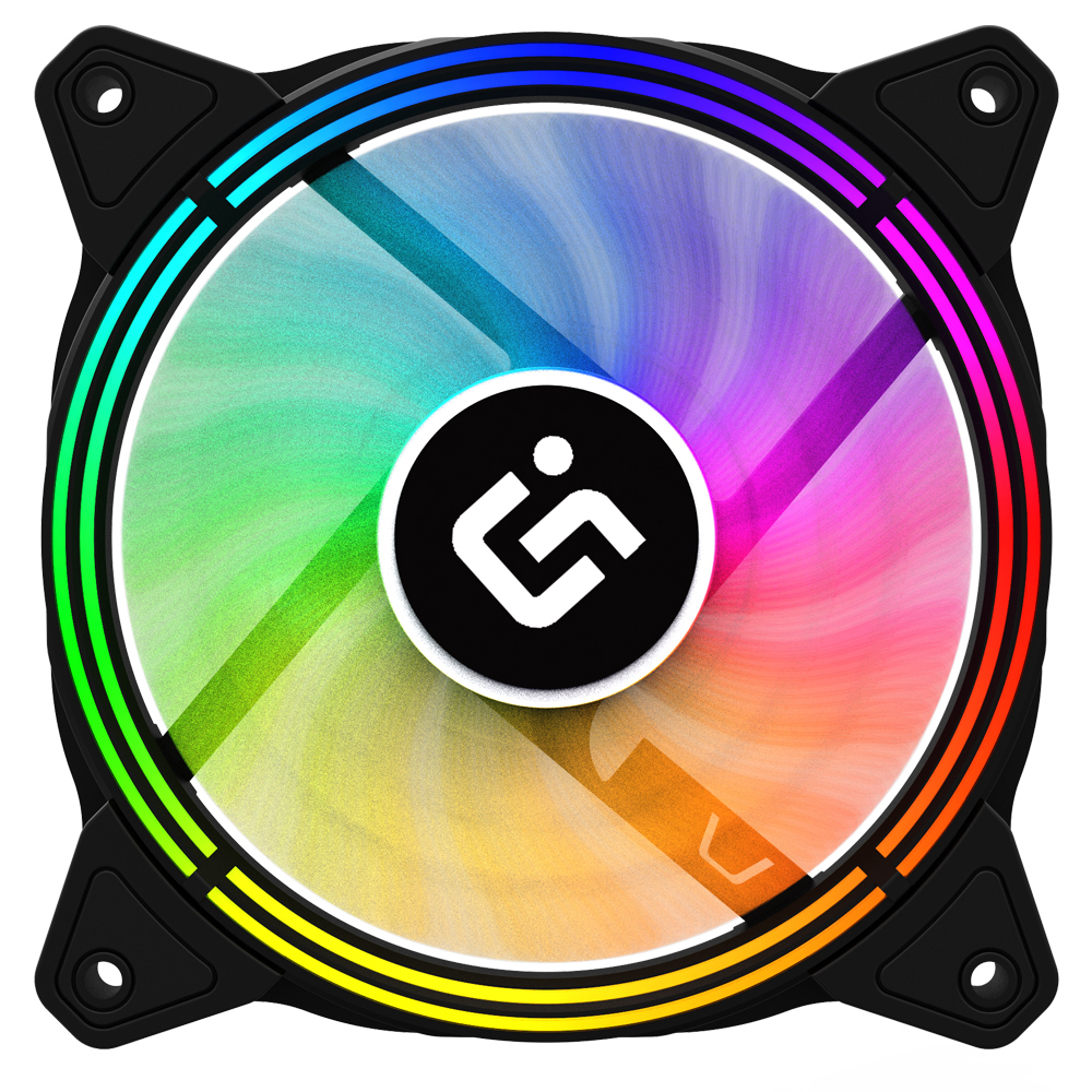 아이구주 스펙트럼 RGB LED FAN TR120 120mm
