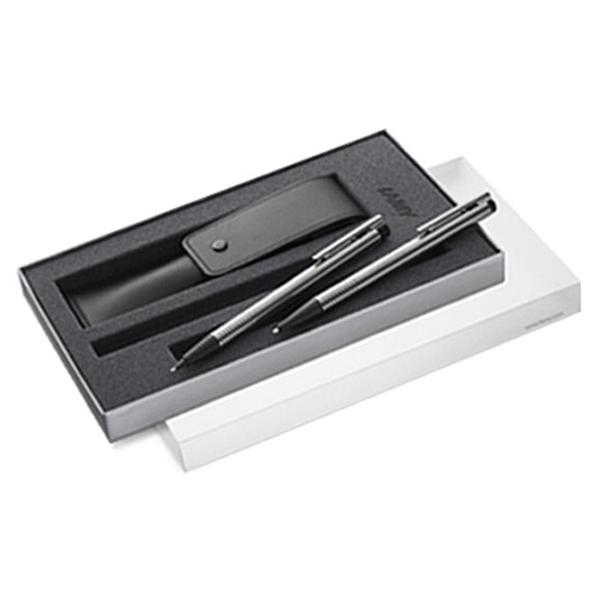 라미 볼펜 205 0.9mm + 샤프 105 0.5mm + 펜파우치 세트, 혼합색상, 1세트