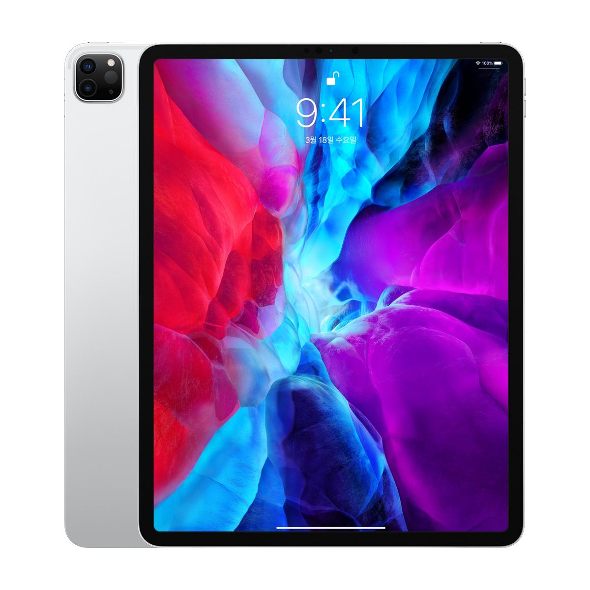 Apple 2020년 iPadPro 12.9 4세대, Wi-Fi, 128GB, Silver