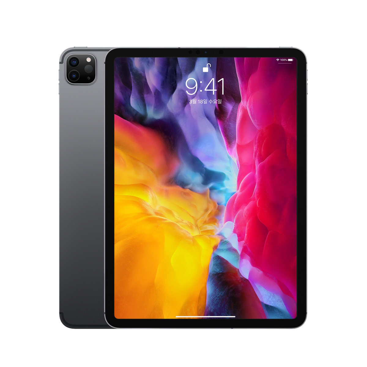 Apple 2020년 iPad Pro 11 2세대, Wi-Fi+Cellular, 1TB, Space Gray