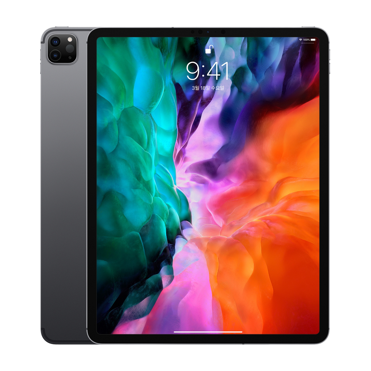 Apple 2020년 iPad Pro 12.9 4세대, Wi-Fi+Cellular, 128GB, Space Gray