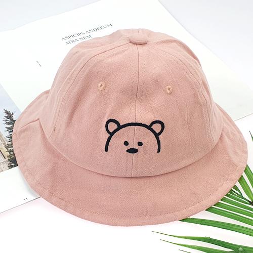 우주아이 아동용 곰돌이 벙거지 모자