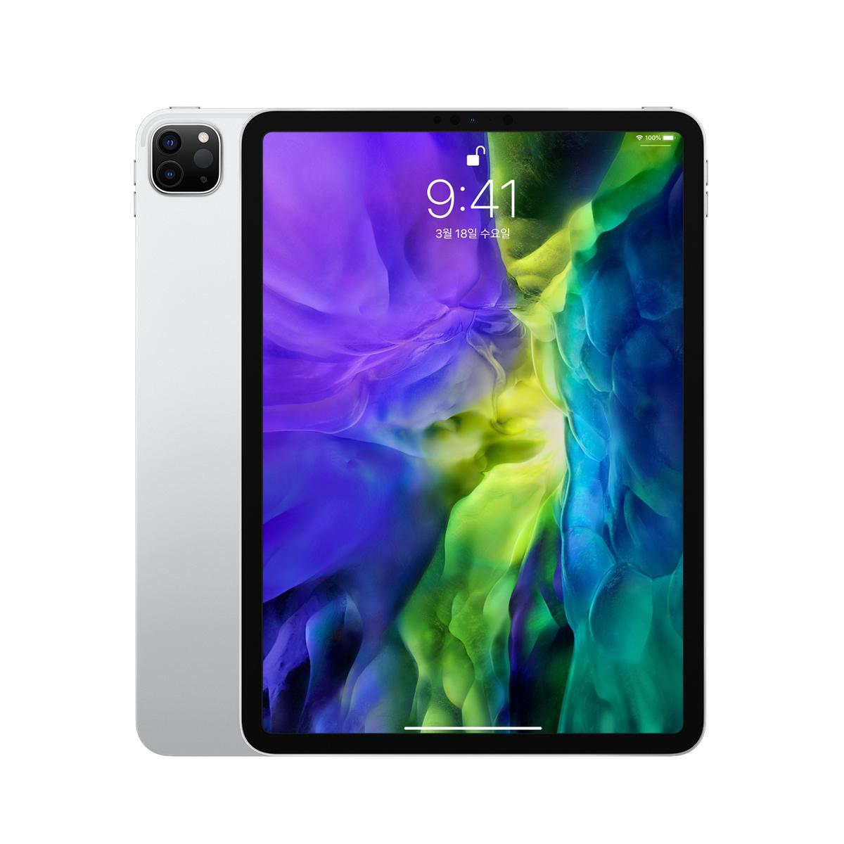 Apple 2020년 iPadPro 11 2세대, Wi-Fi, 256GB, Silver