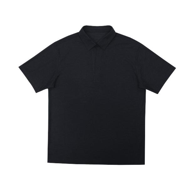 트루젠 베이직 오픈 카라 티셔츠 TGAU4-MKS030