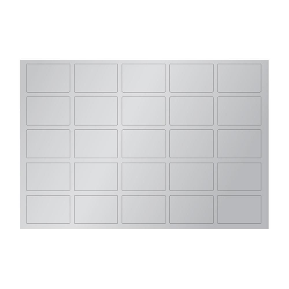 티처몰 DIY 복권 만들기 스크래치 스티커 직사각형, 300개