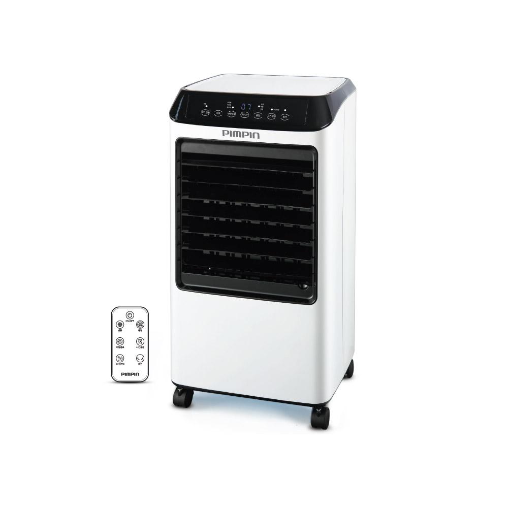 핌핀 에어쿨러 대용량 리모컨 이동식 냉풍기 + 냉매팩 2p, PA-9139