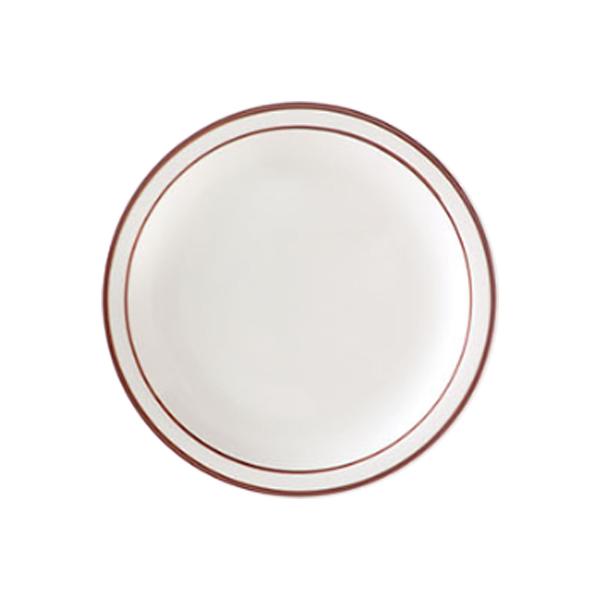 코지테이블 시라쿠스 라인 접시, 브라운