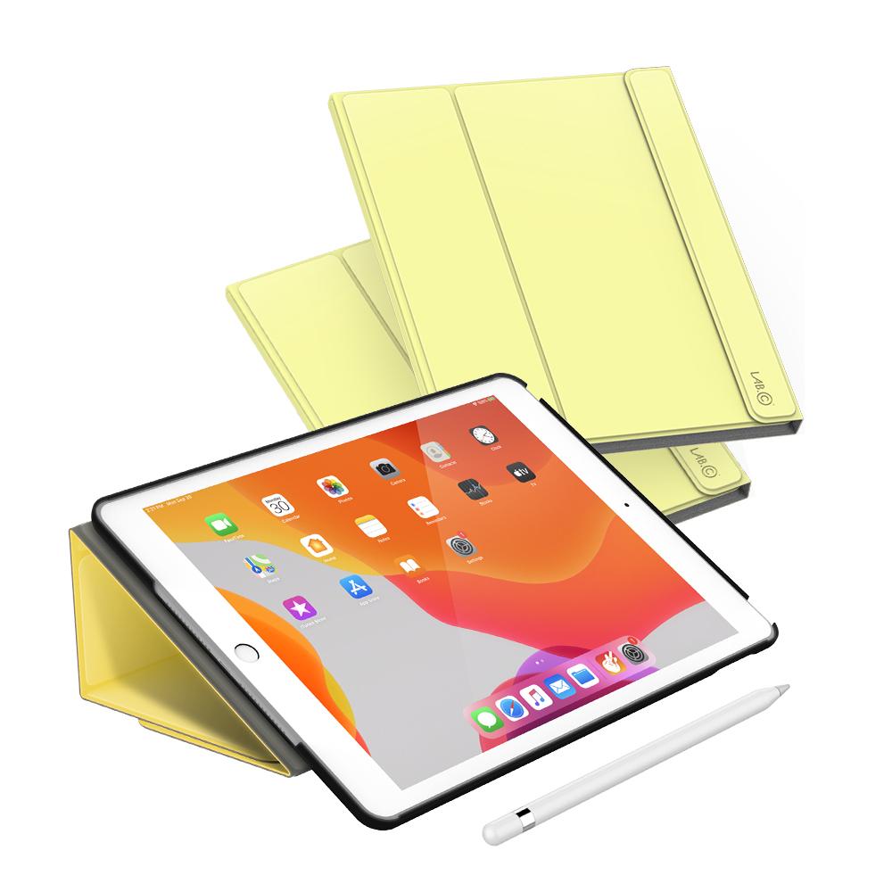 랩씨 마카롱 스마트 커버 태블릿PC 케이스, 레몬