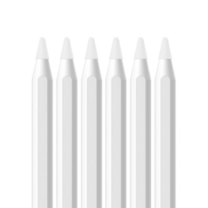 디씨네트워크 애플펜슬 팁 커버, 화이트, 6개