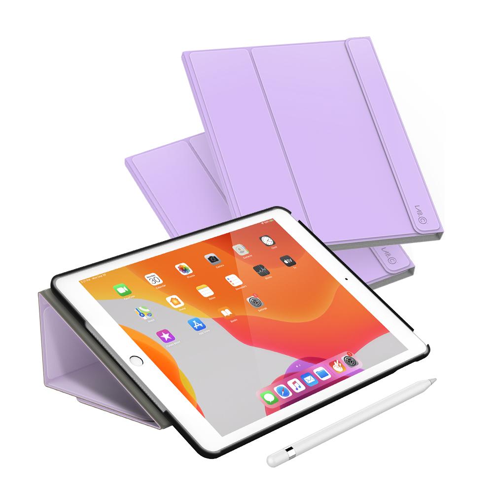 랩씨 마카롱 스마트 커버 태블릿PC 케이스, 라벤더