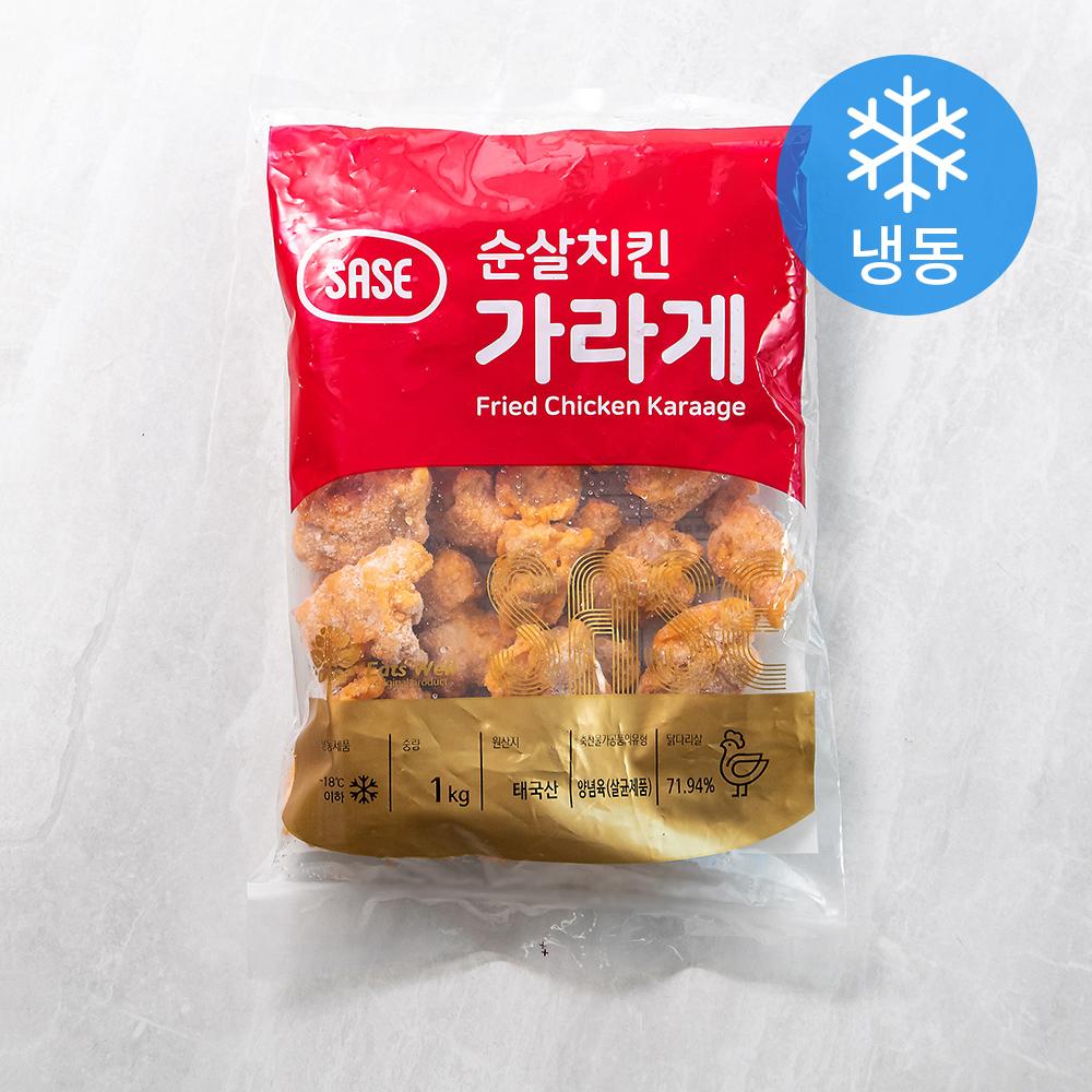 순살치킨 가라게 (냉동), 1kg, 1개