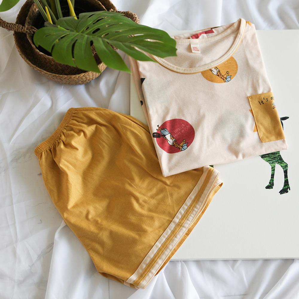 글램공감 커플용 스타 투피스 잠옷 홈웨어