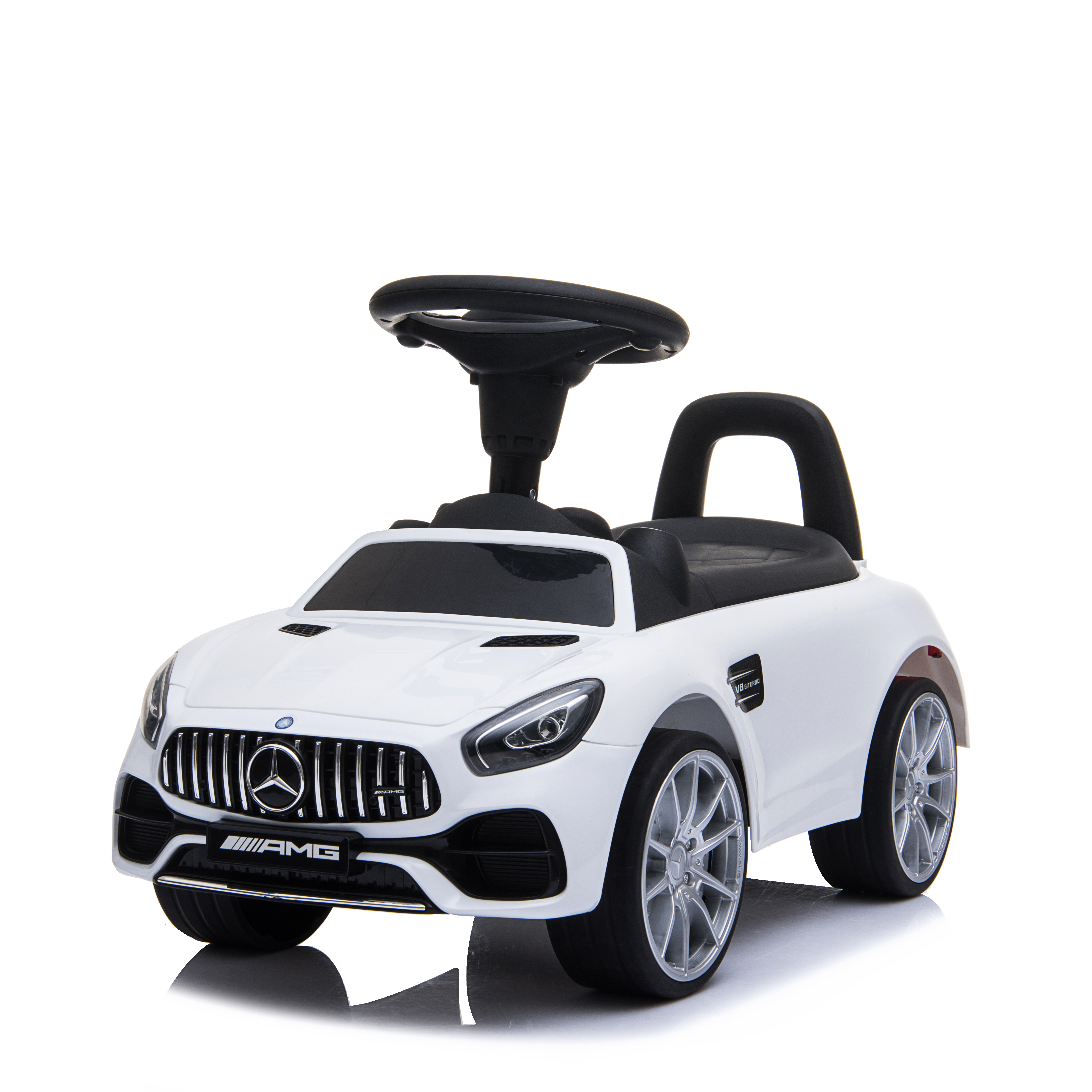 벤츠 AMG GT 저소음 유아 붕붕카, 화이트