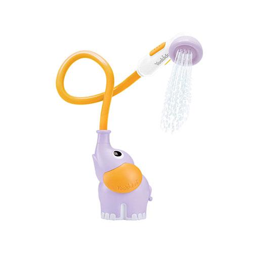 유키두 물 뿜는 코끼리 샤워기 목욕놀이완구, 퍼플