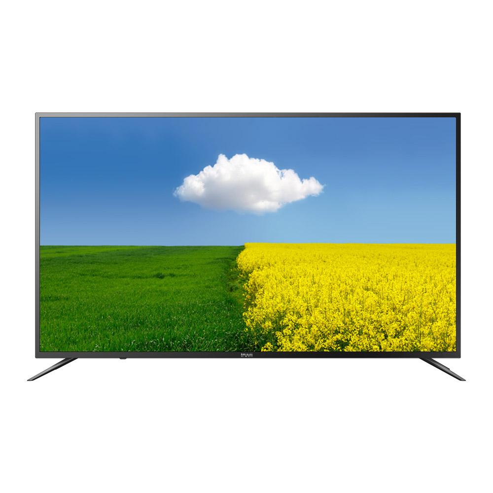 트루비 4K UHD DLED 164cm HDR TV B650UHD HDR Slim, 스탠드형, 방문설치