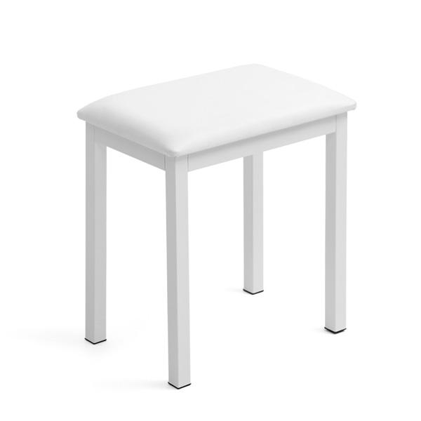 칸타빌 원목 철재 피아노 의자 CPS-200, 화이트