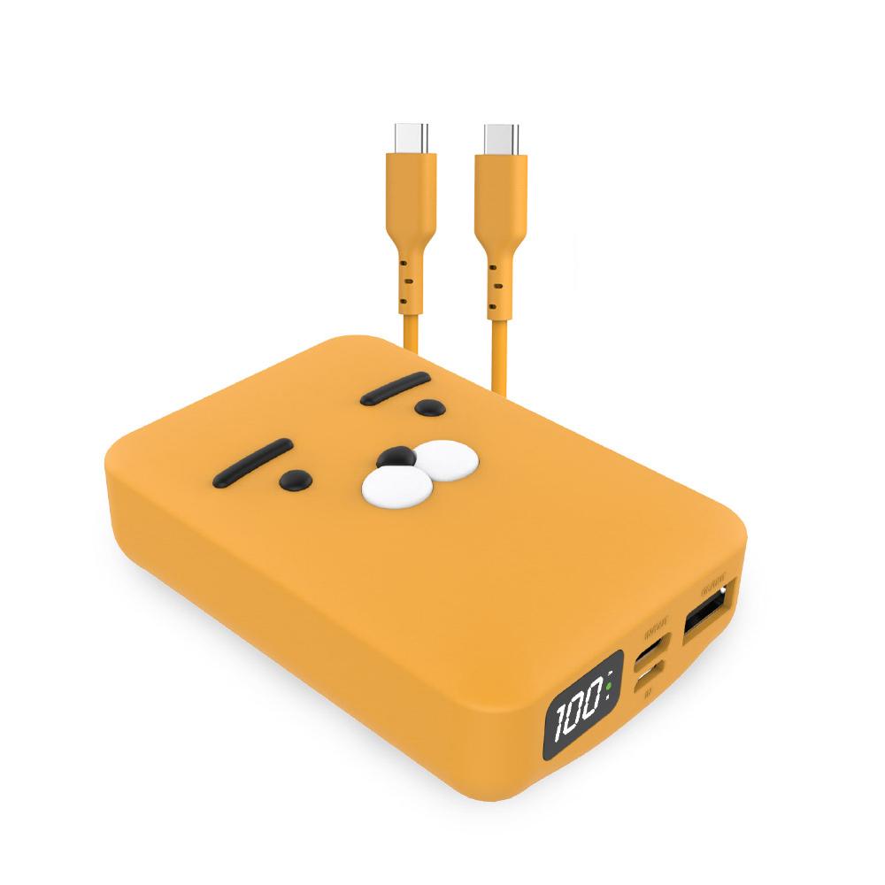 카카오프렌즈 사각 PD 보조배터리 10000mAh USB, WPB10000_PD, 라이언
