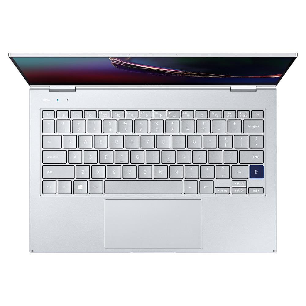 삼성전자 갤럭시북 플렉스 NT930QCG-K58SA 로얄실버 (i5-1035G4 33.7cm), NVMe 512GB, 8GB, WIN10 Home