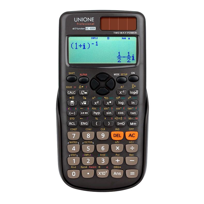 유니원 공학용 계산기 UC-600E