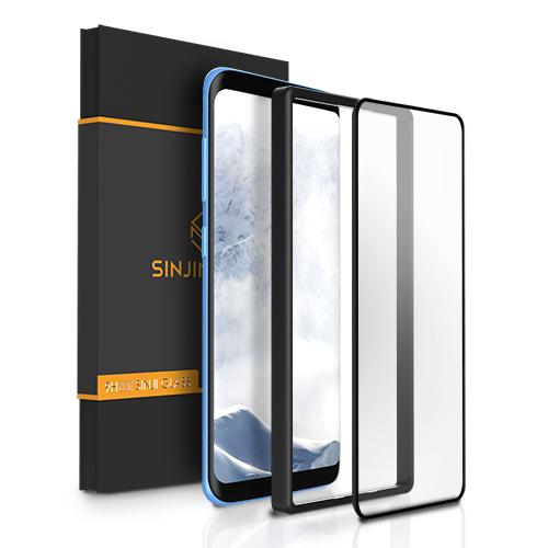 신지모루 3세대 플렉시블 풀커버 휴대폰 액정보호필름, 1개
